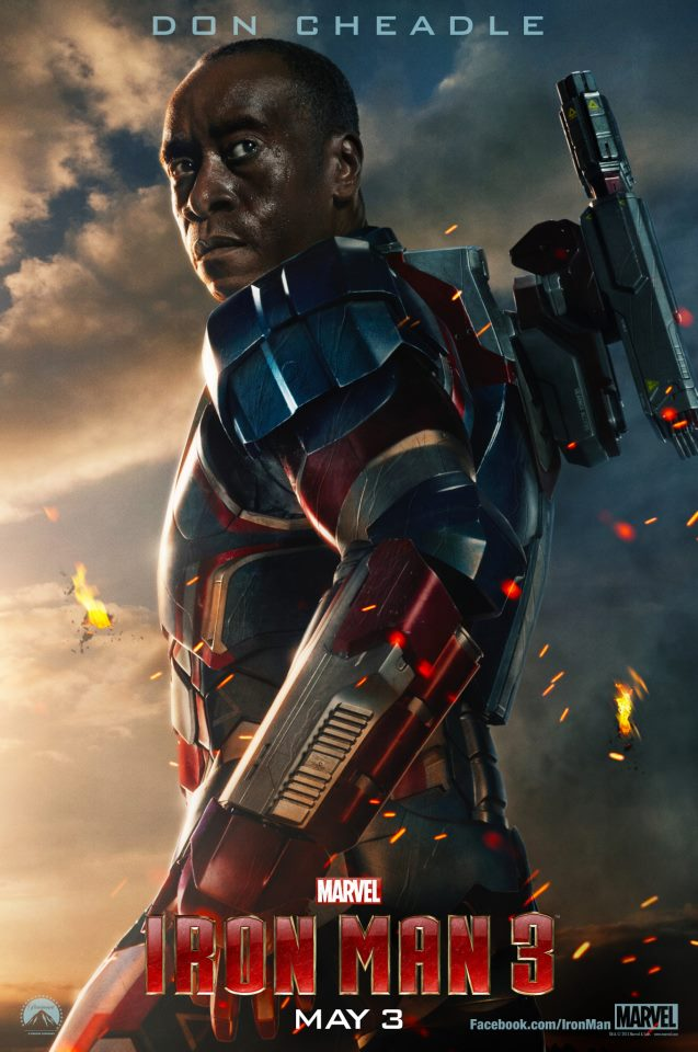 Iron Man 3 character posters