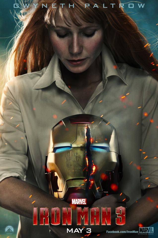 Pepper Potts Character poster