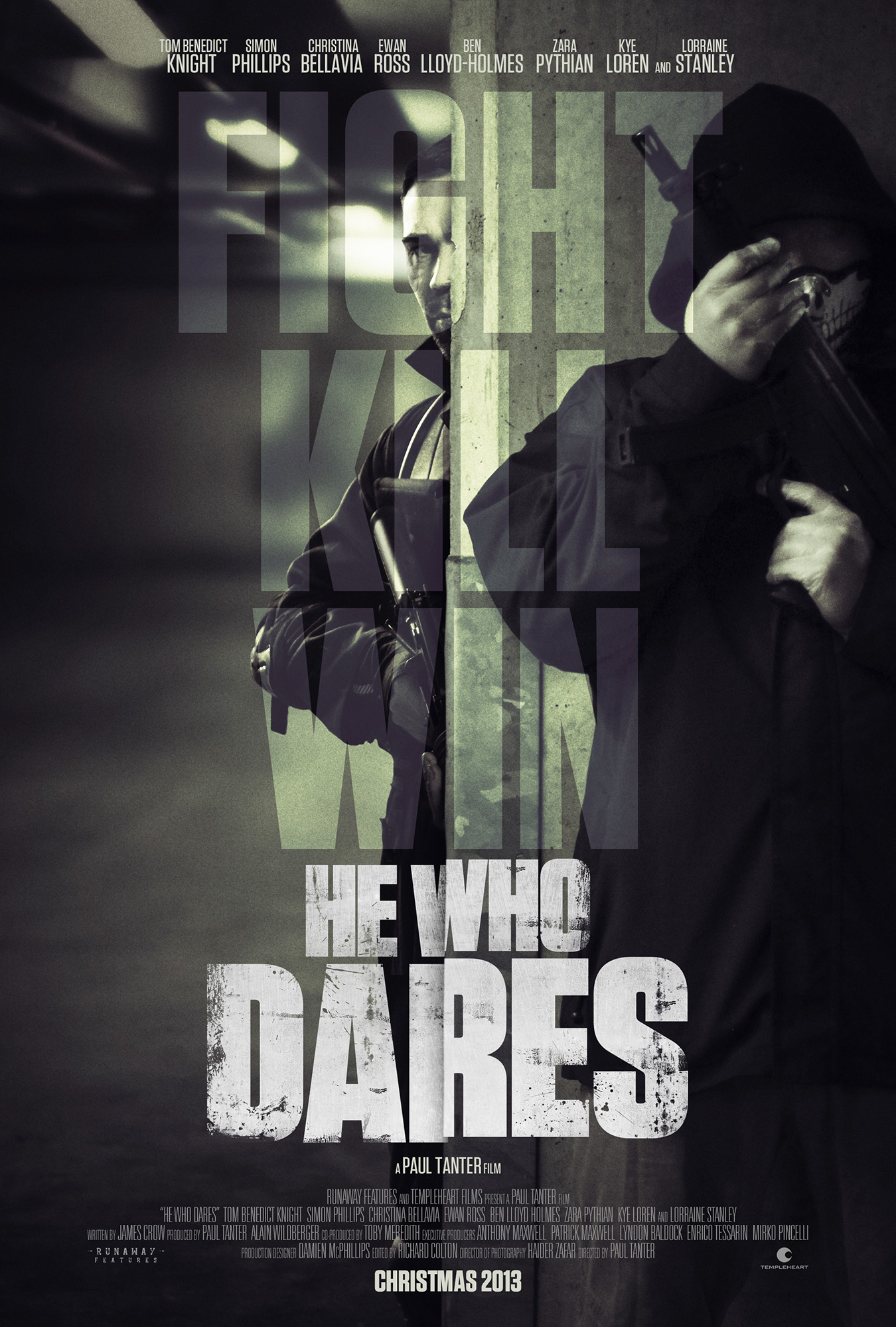 HE WHO DARES POSTER