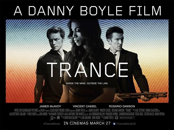Trance: Poster